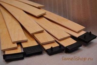 ламели деревянные пружины для кровати купить в магазине Ламелишоп.ру