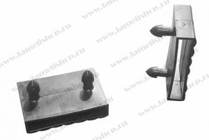 Латодержатель 53 мм  центральный проходной