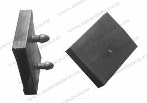 Латодержатель 63 мм центральный проходной