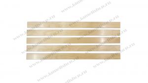Ламели 550x65 Экспорт